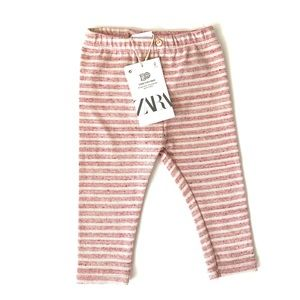 Zara Baby Girl Striped Leggings